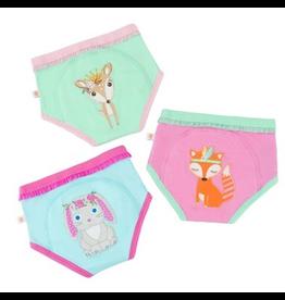 Zoocchini Bunny/Doe/Fox Organic Training Pants