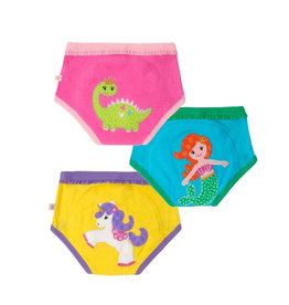Zoocchini Mermaid/Dino/Unicorn Organic Training Pants