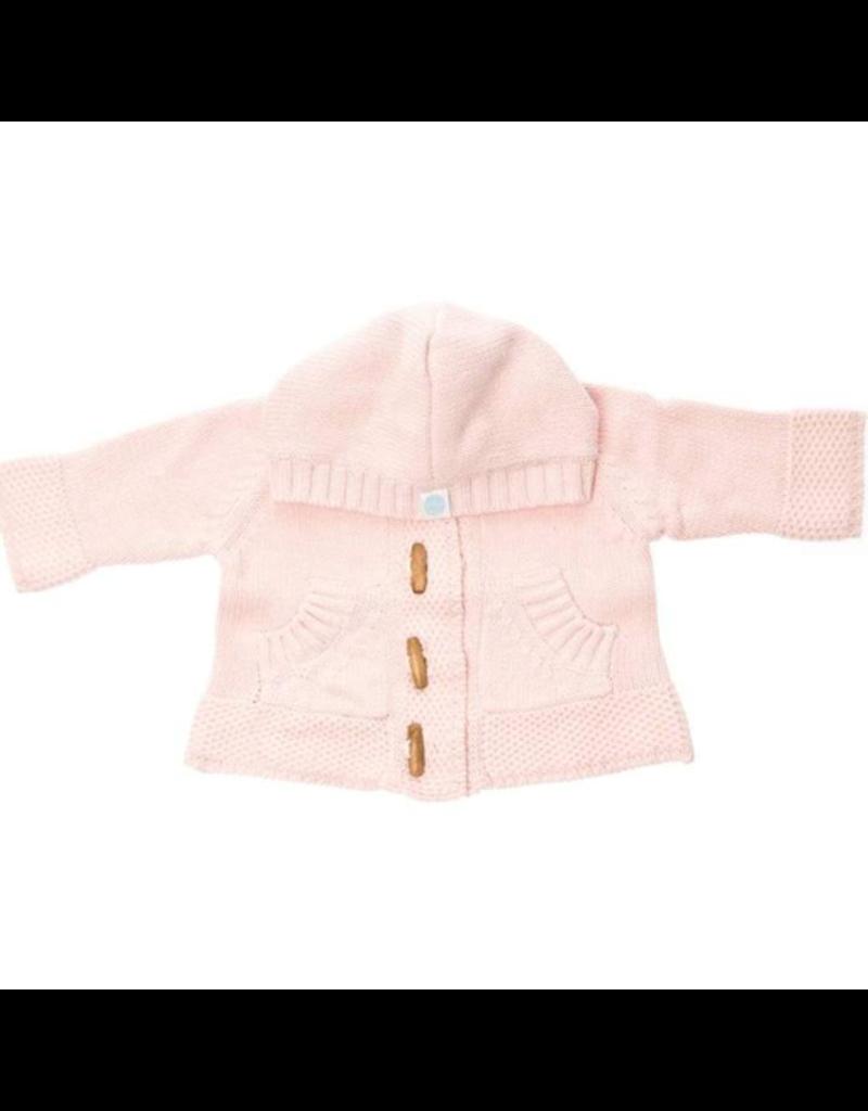 Beba Bean Light Pink Knit Hoodie