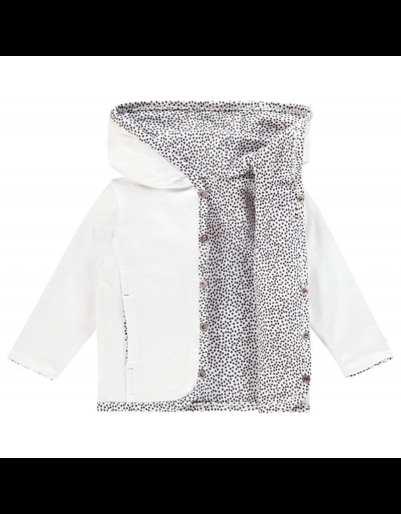 Noppies Basics Haye Reversible Cardigan - White