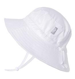Jan & Jul White AquaDry Grow-With-Me Hat