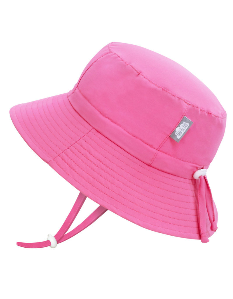 Jan & Jul Hot Pink AquaDry Grow-With-Me Hat