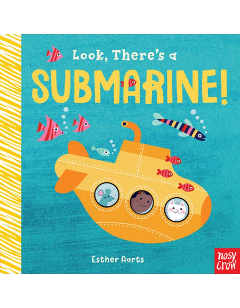 Random House Look, There's A Submarine! Board Book