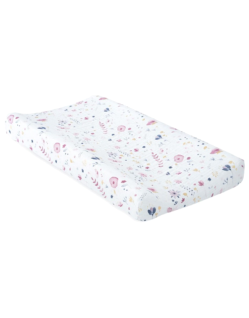 Little Unicorn Brushed Muslin Pad Cover