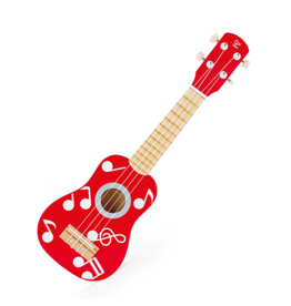 Hape Toys Rock Star Red Ukelele