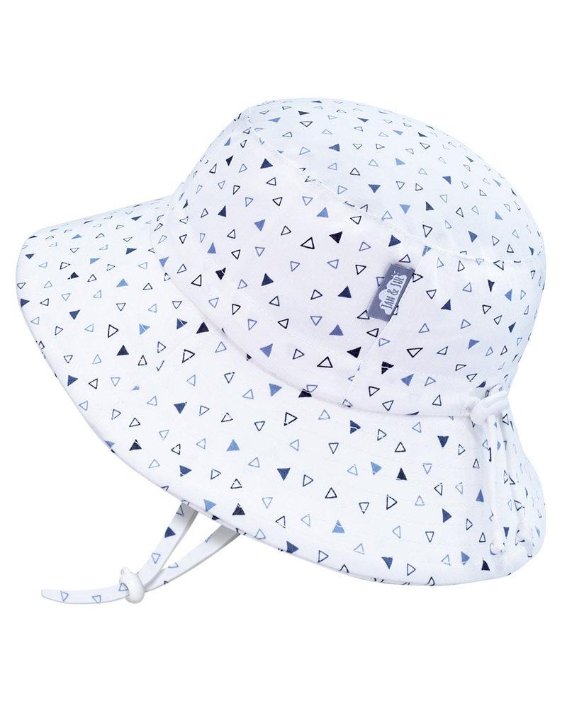 Jan & Jul Triangles Gro-With-Me® Cotton Bucket Sun Hat