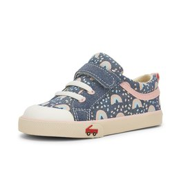 See Kai Run Kristin Sneakers Rainbows Chambray