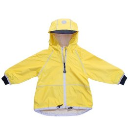 Yellow Waterproof Shell Jacket