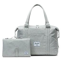 Herschel Strand Sprout Diaper Bag - Light Grey Crosshatch