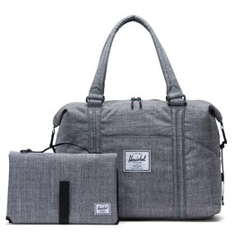 Herschel Strand Sprout Diaper Bag - Raven Crosshatch
