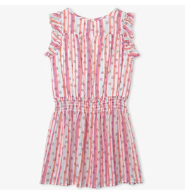 Hatley Candy Stripes Rainbows Dress
