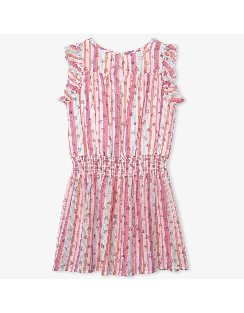 Hatley Candy Stripes Rainbows Dress