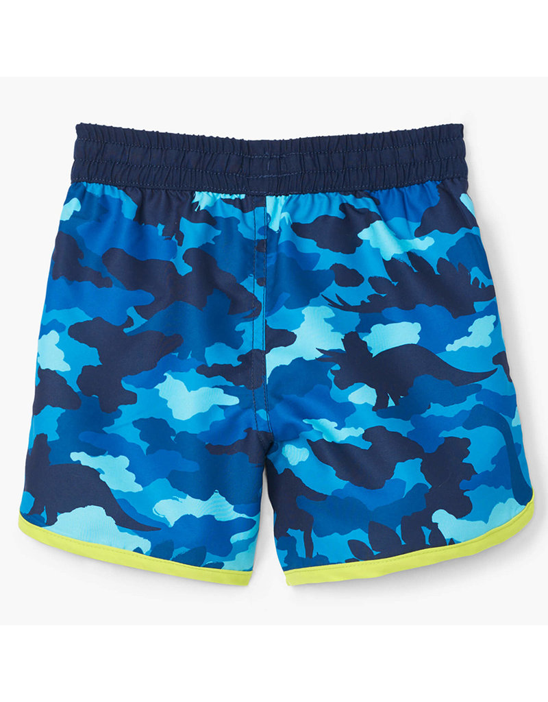 Hatley Dino Camo Swim Shorts