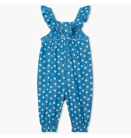 Hatley Ditsy Floral Chambray Romper
