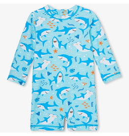 Hatley Shark Party Baby UV Suit