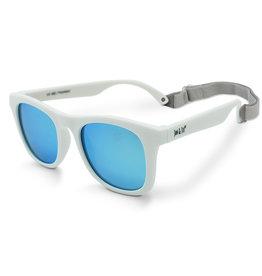 Jan & Jul White Mirrored Aurora Sunglasses