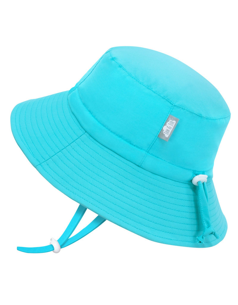 Jan & Jul Teal AquaDry Grow-With-Me Hat