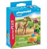 Playmobil Girl with Pony