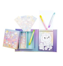Schylling Kawaii Cafe Colouring Set