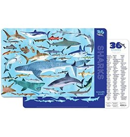 Crocodile Creek Placemat - Sharks