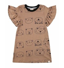 Turtledove London Cub Face Dress