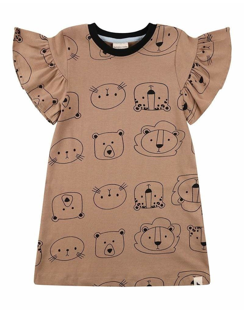Turtledove London Cub Face Dress