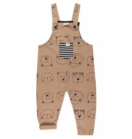 Turtledove London Cub Face Dungarees