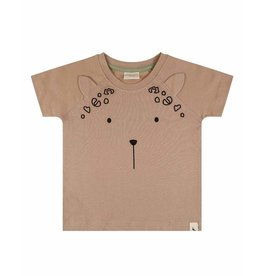 Turtledove London Leopard Ear Tee