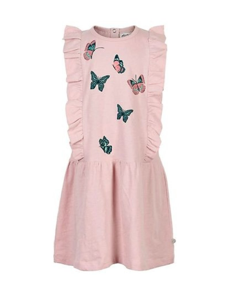 Butterfly Ruffle Dress