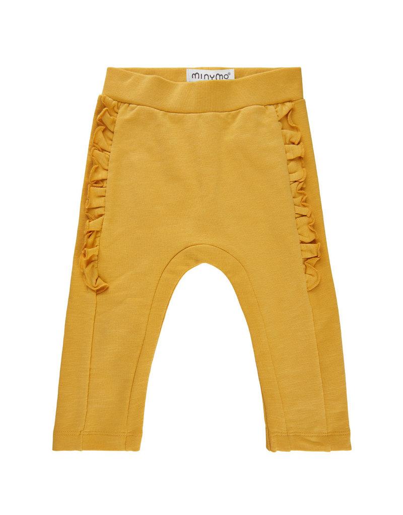 Yellow Baby Ruffle Pants