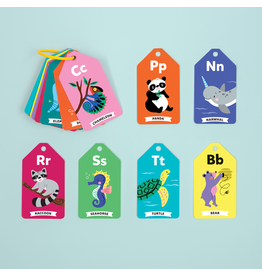 Mudpuppy Wildlife ABCs Ring Flash Cards