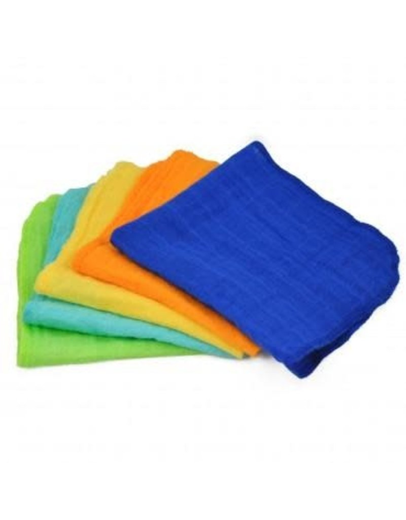 Muslin Face Cloths 5pk