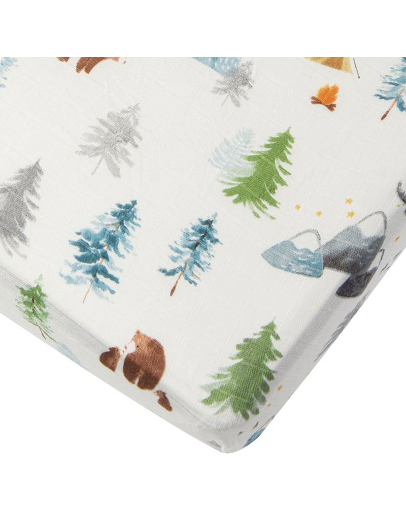 Loulou Lollipop Adventure Begins Fitted Crib Sheet