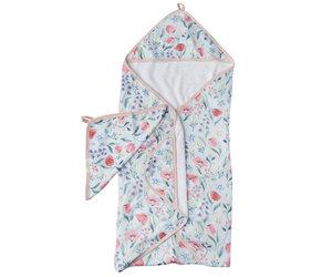 Bluebells Hooded Towel & Cloth