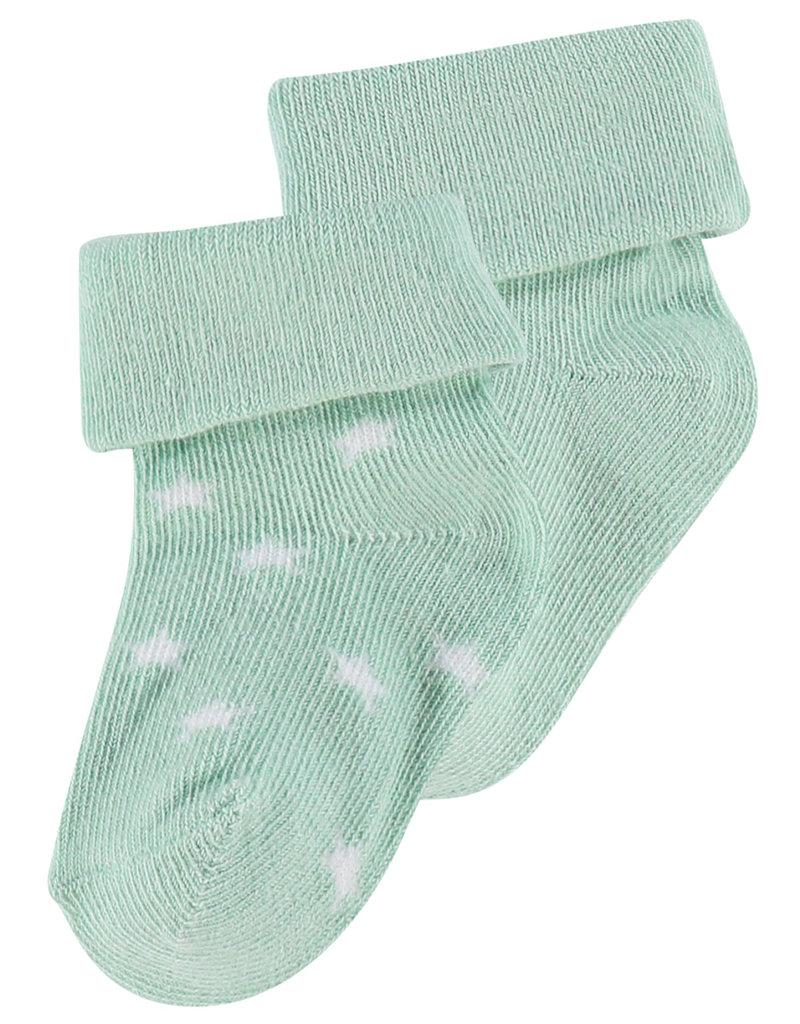 Noppies Basics Mint Star Socks 2pk