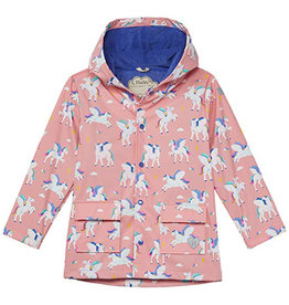 Hatley Magical Pegasus Colour Changing Raincoat