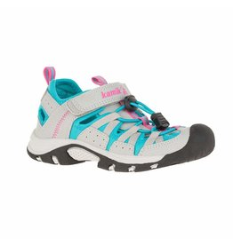 Kamik Grey/Pink Wildcat Sandals