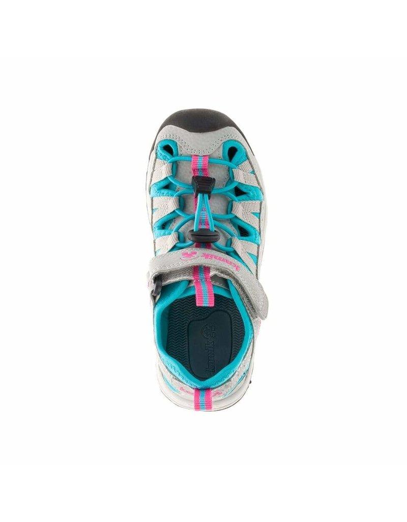 Kamik Grey/Pink Wildcat Sandals