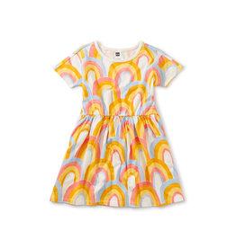 Tea Collection Skater Rainbows Dress