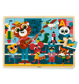 Djeco Wooden Puzzle -  Music - 35pcs
