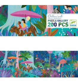 Djeco Gallery Puzzle - Children's Walk - 200pcs