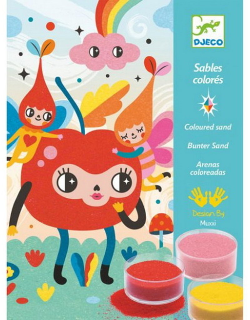 Djeco Coloured Sands - Deliciously Cute