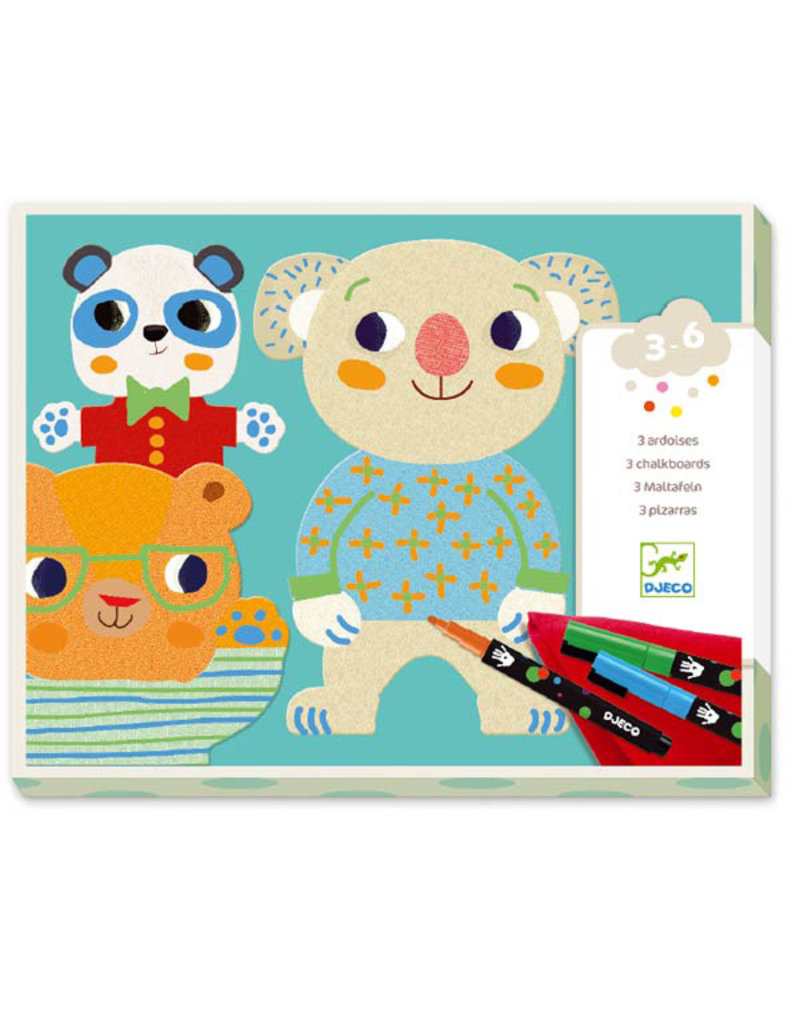 Djeco Colouring - Cuties 3-6Y