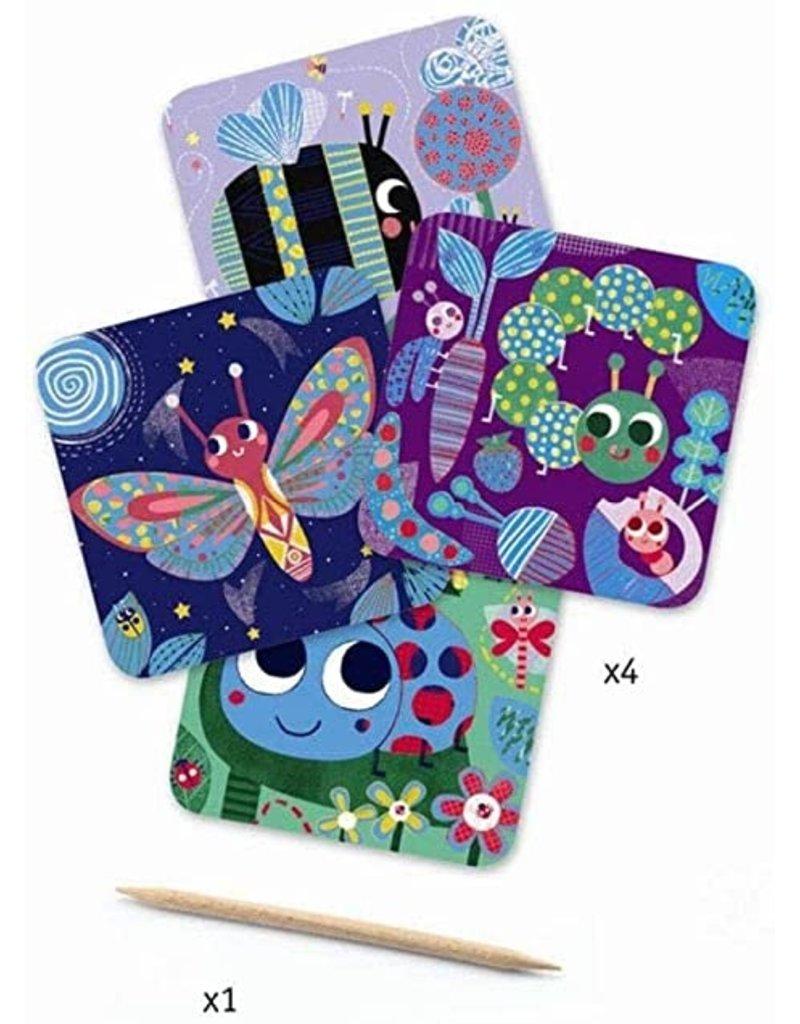 Djeco Scratch Cards - Bugs