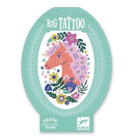 Djeco Tattoos - Big Tattoo - Poetic Horse