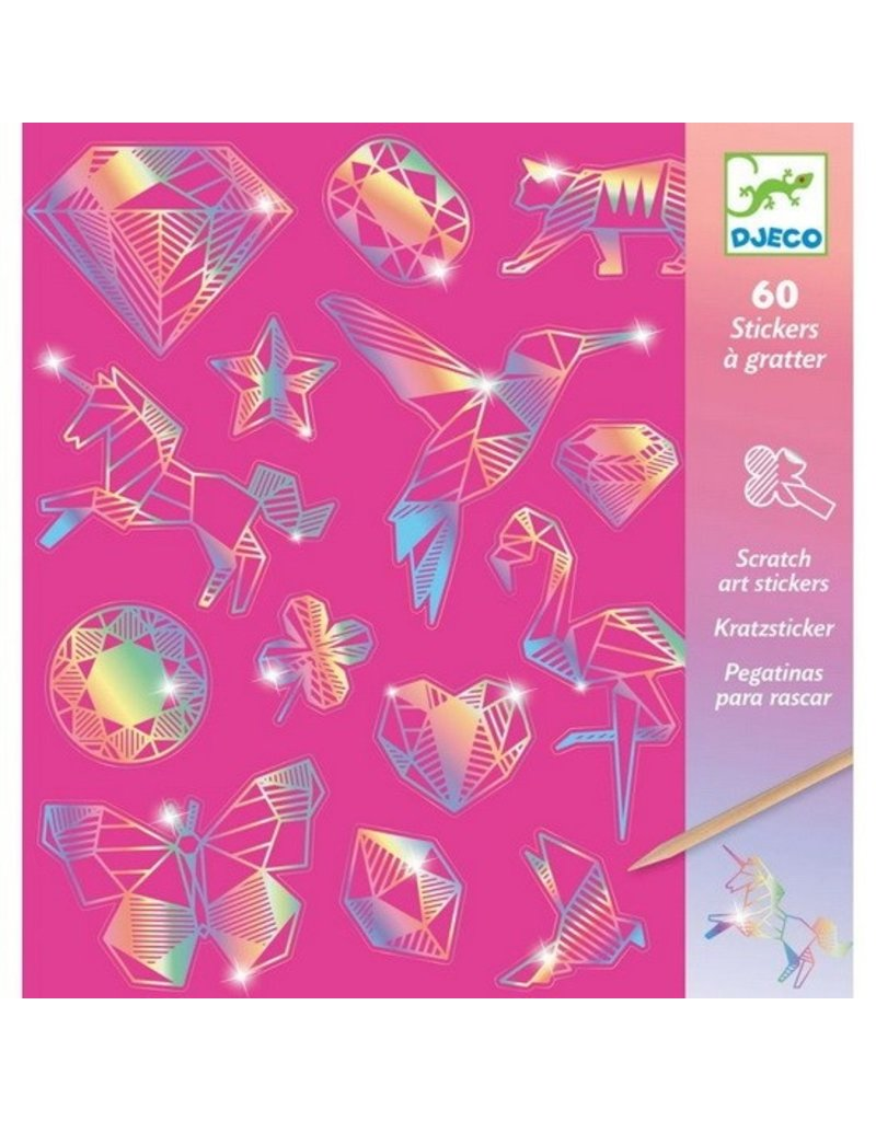 Djeco Scratch Cards - Diamond