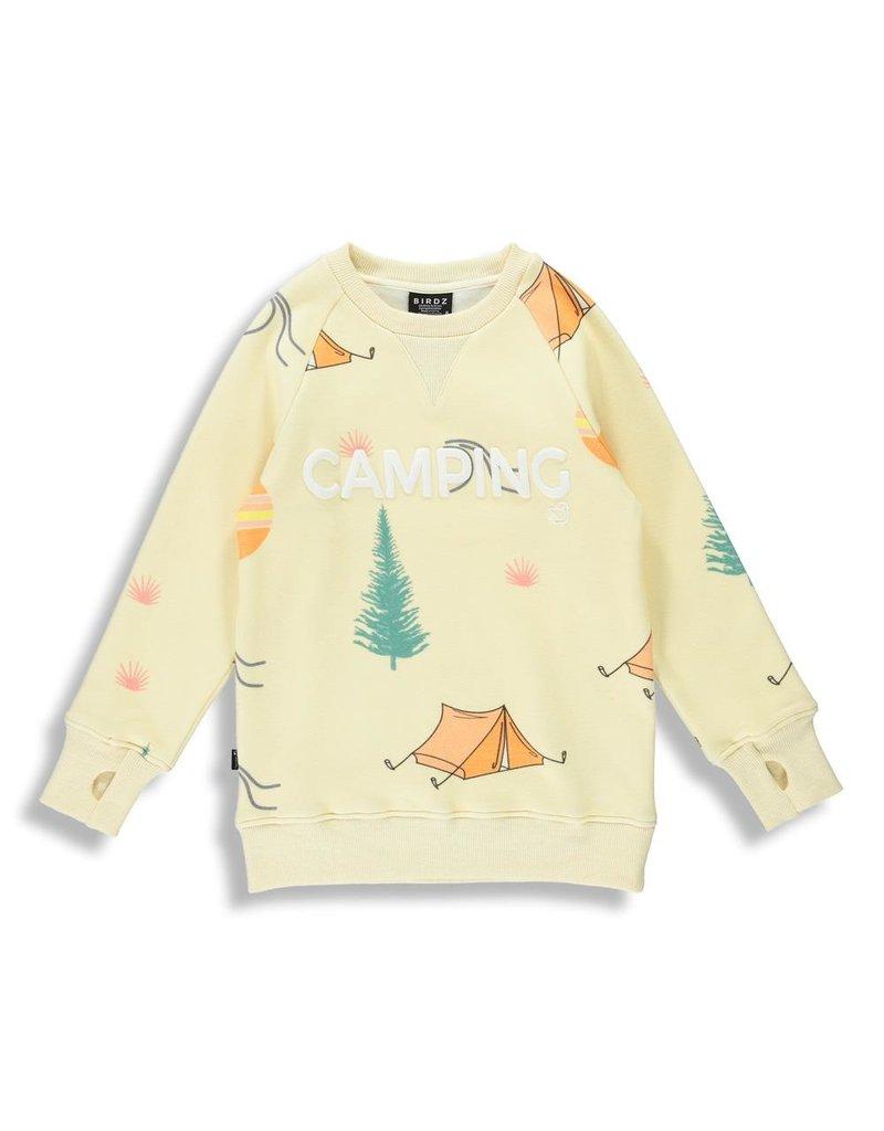 Birdz Camping (All-over) Sweatshirt