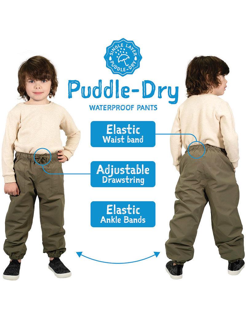 Jan & Jul Navy Puddle-Dry Waterproof Pants
