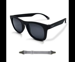 Black Urban Explorer Polarized Sunglasses