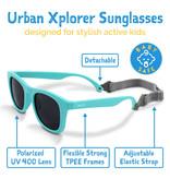 Jan & Jul Blue Urban Explorer Polarized Sunglasses